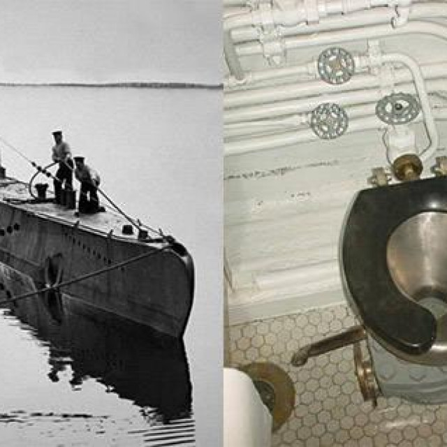 Toalet na podmornici