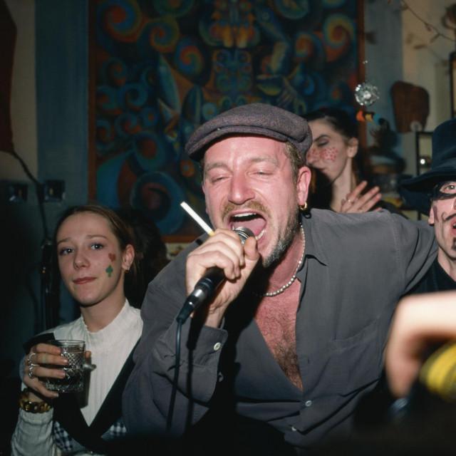 Uvertira u spektakl: Bono je u Sarajevu dočekao i 1996. godinu