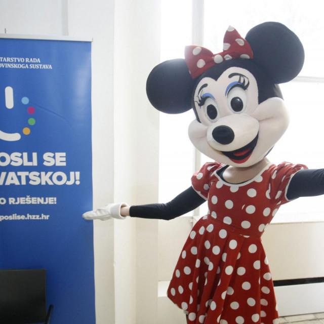 Nezaposlenima ne može pomoći ni Minnie Mouse
