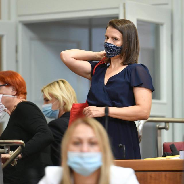Katarina Peović, zastupnica Radničke fronte