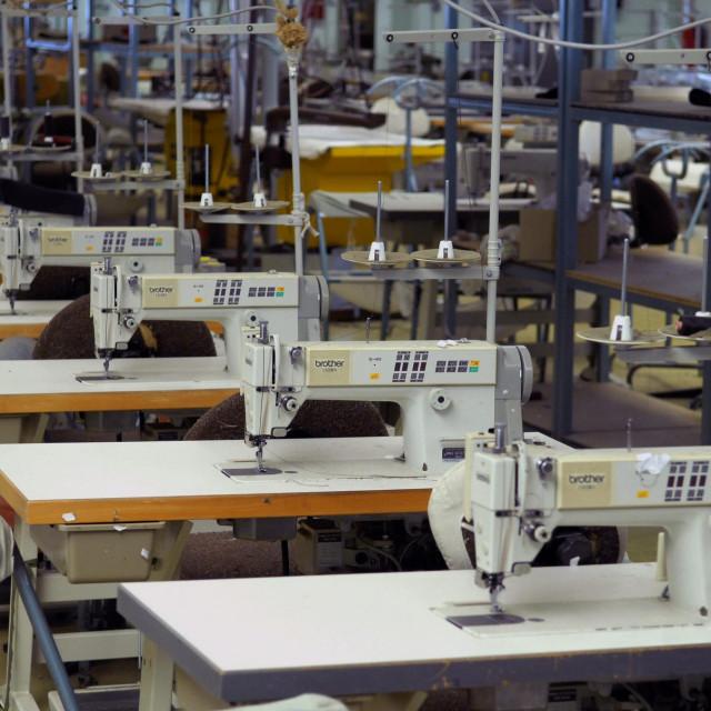 Pogon nekad moćne tekstilne tvrke Revija
