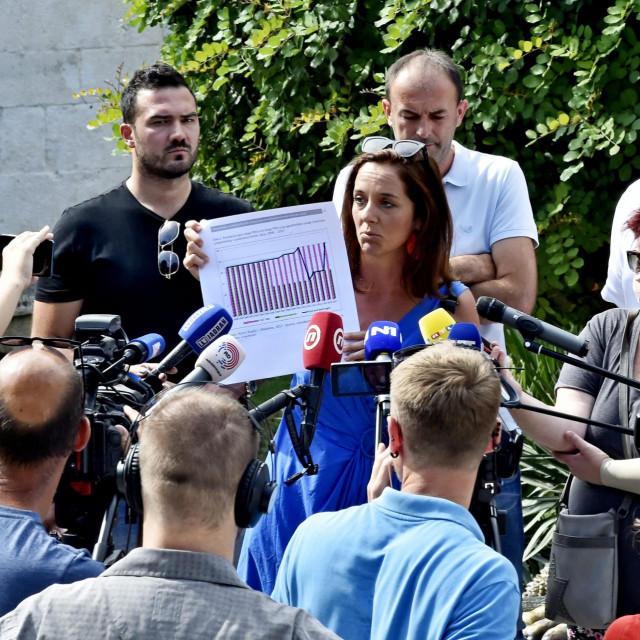 Jelena Tabak: Zahvaljujemo Vladi, koja je spriječila krvarenje u ožujku, ali rana se inficirala i prijeti nam sepsa