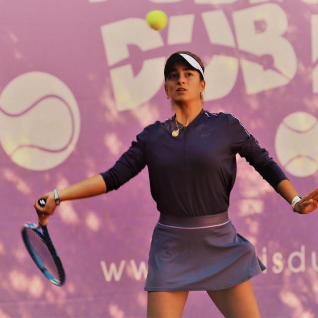 Leticia Tarocco, tenisačica Raguse foto: Tonči Vlašić