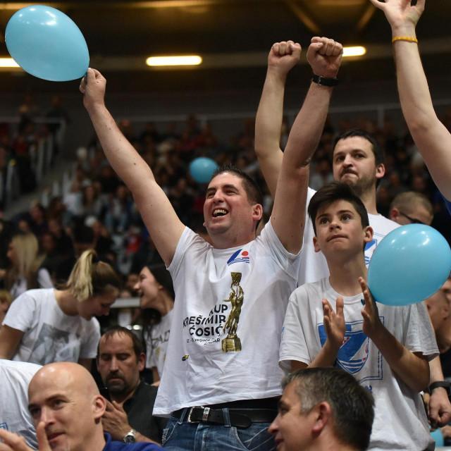 U posljednjem izdanju Kupa Hrvatske 'Krešimir Ćosić' Zadar je u finalu dobio Cibonu foto: Luka Gerlanc / CROPIX