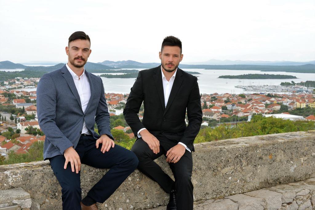 Renato Kožulić, predsjednik nove murterske stranke (lijevo), i politički tajnik stranke Branimir Jelić