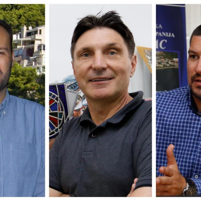 Stipe Ursić, Ante Čobrnić i Matko Burić