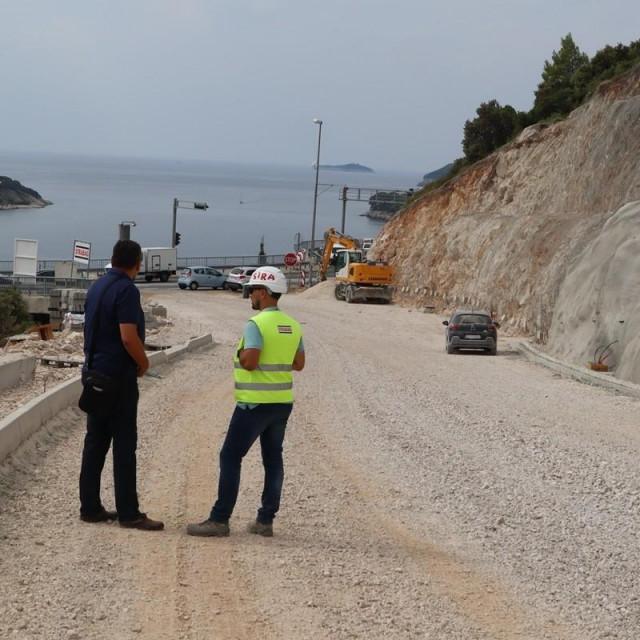 Obilazak gradilišta prometnice prema Pobrežju