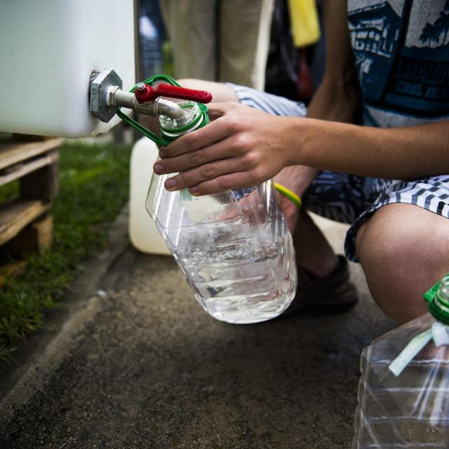 Stanovnici Vrgorca i 17 okolnih sela se gotovo pola stoljeća opskrbljuju vodom iz Banje