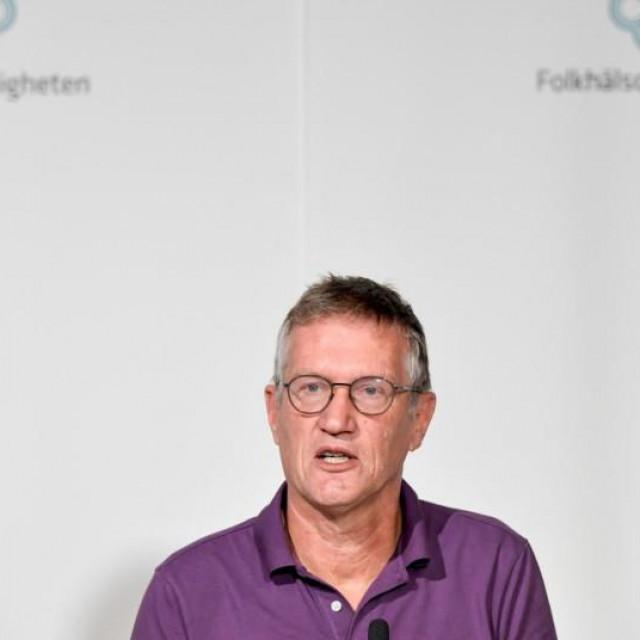 Anders Tegnell, glavni švedski epidemiolog