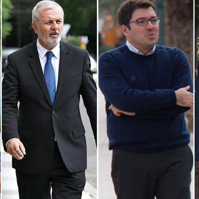 Andro Krstulović Opara, Ante Sanader, Domagoj Maroević i Andrej Plenković