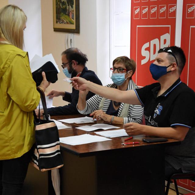 SDP-ovci su ove subote birali novog predsjednika stranke