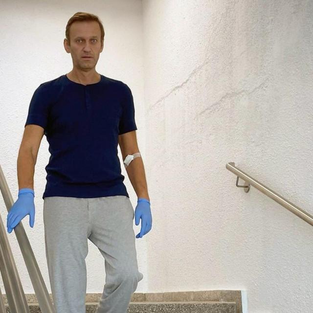 Aleksej Navaljni u berlinskoj bolnici