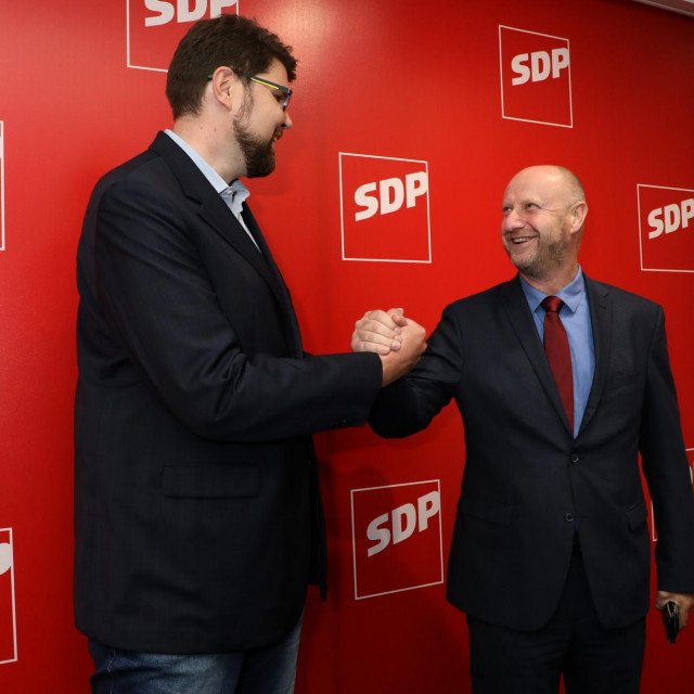 Peđa Grbin i Željko Kolar