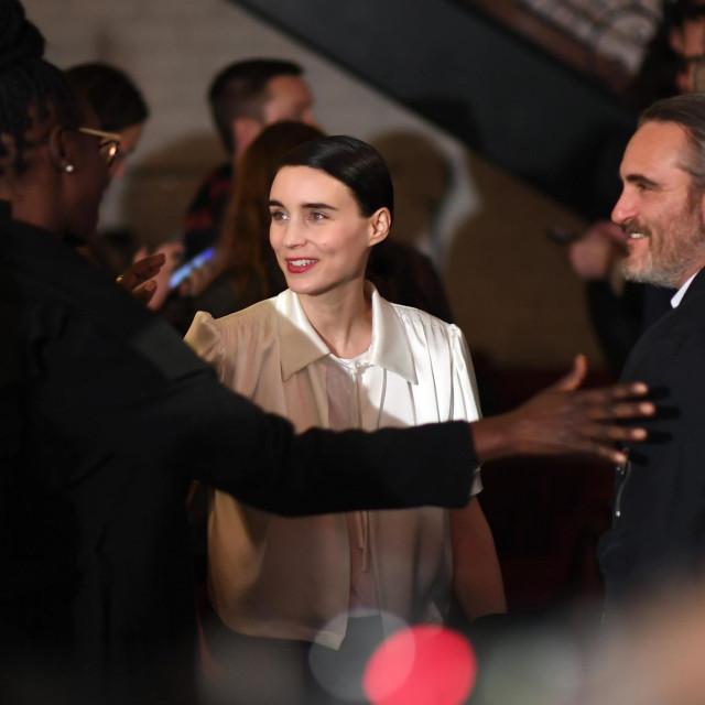 Joaquin Phoenix i Rooney Mara: Priznao je da je ona jedina osoba koju je 'guglao'
