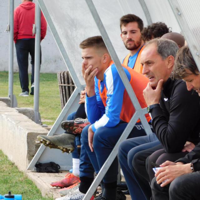 Trener Primorca Mirko Labrović