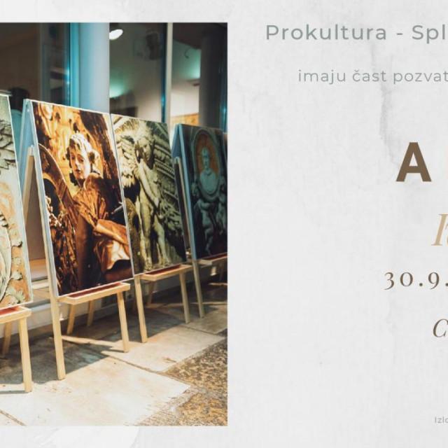 Izložba Ive Pervana Anđeli u Sv. Donatu