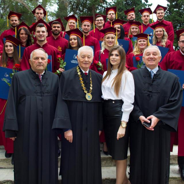 Visoka škola za inspekcijski i kadrovski menadžment u pomorstvu u Splitu osnovana je 2011. godine