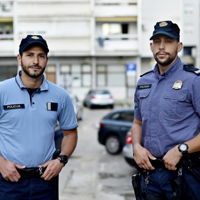 Mladi policajci Marko Jurčević i Toni Nuić