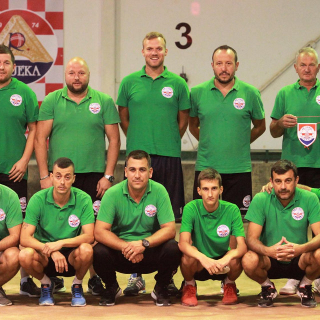 Boćarski klub Sokol Dubravka - sezona 2020./21. foto: Tonči Vlašić