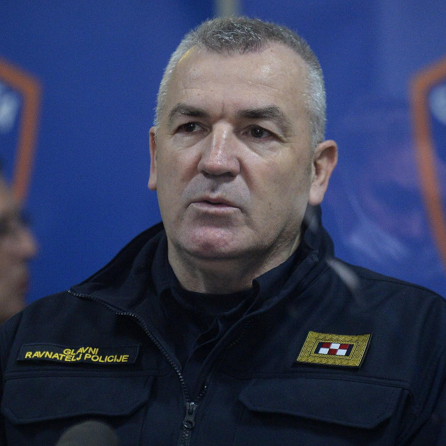 Glavni ravnatelj policije Nikola Milina
