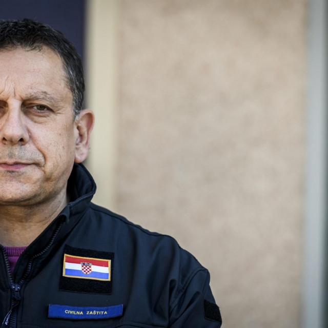 Nikola Blažević, načelnik županijskog Stožera civilne zaštite