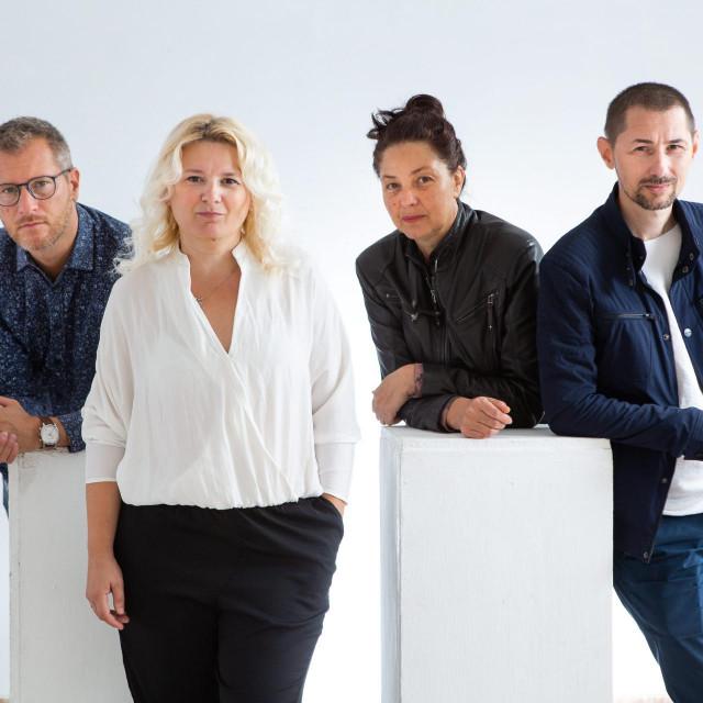 1 Hrvoje Zuanić, Olivia Nitis, Sandra Sterle i Ciprian Ciuclea<br /> Saša Burić/Cropix