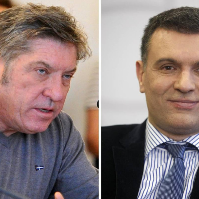 Dubravko Lepušić i Trpimir Goluža