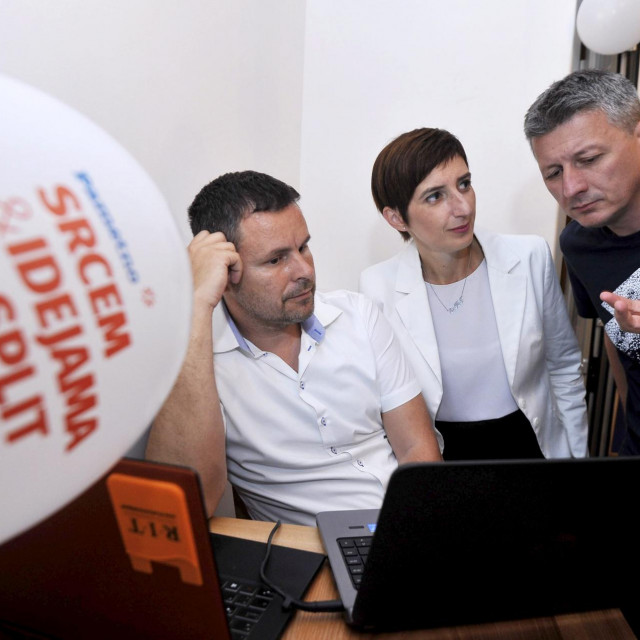 Na fotografiji Renato Čupić, Marijana Puljak i Jakov Prkić<br /> <br />