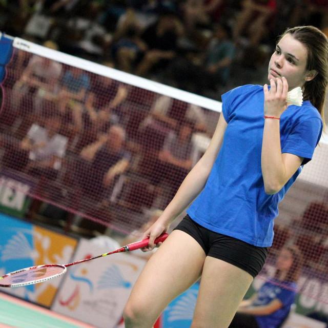 Barbara Janičić, članica Badmintonskog kluba Dubrovnik