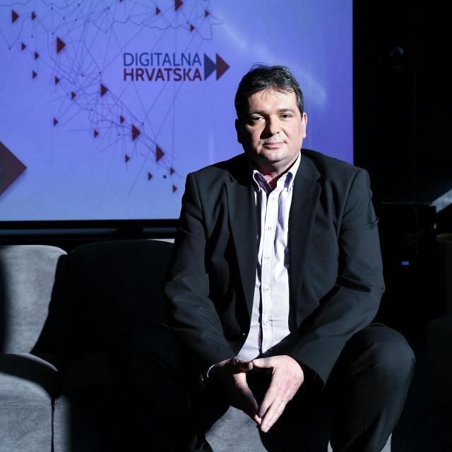Izvršni predsjednik udruge Digitalna Hrvatska Đuro Lubura