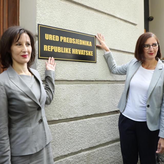 Dalija Orešković i Marijana Pulja
