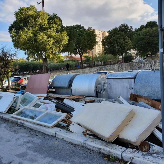 Čišćenje mini deponija na području GK Split 3