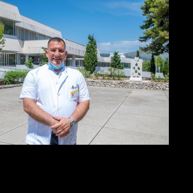 Ravnatelj dubrovačke Opće bolnice Marijo Bekić