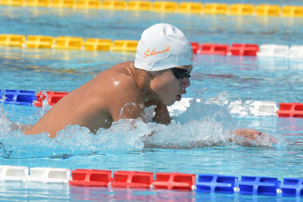 Luka Popović, mladi plivač 'Šibenika'