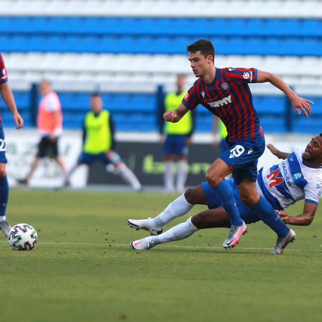 Čuić na utakmici protiv Osijeka