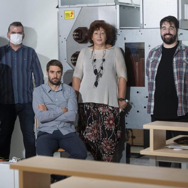 Tim sastavljen na Pomorskom fakultetu u Splitu, predvodi ih profesorica Maja Krcum