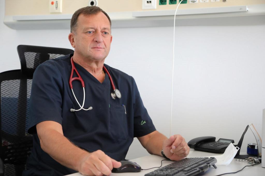 dr Jerko Ferri Certić s Kardiološkog odjela