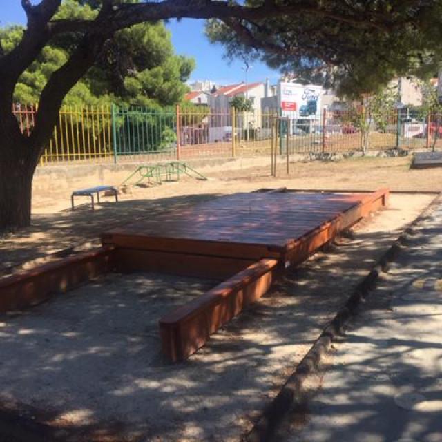 Novo igralište ispred 'Popaja'