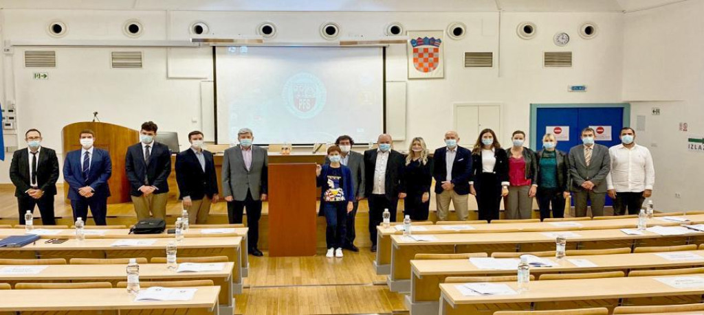 Sudionci Savjetovanja 'Aktualnosti u sportskom pravu 2020' na Pravnom fakultetu