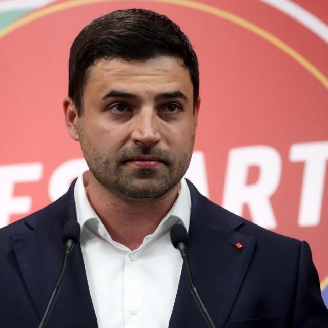 Davor Bernardić, sad već bivši predsjednik SDP-a