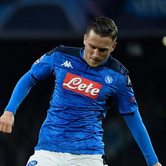 Napoli je još u petak objavio kako je njegov veznjak Piotr Zielinski pozitivan