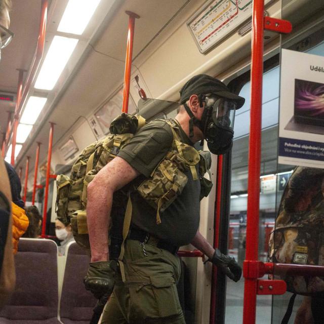 Prizor iz metroa u Pragu
