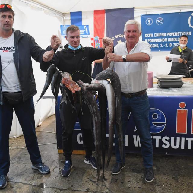 Volosko, XXVII. Državno ekipno prvenstvo u podvodnom ribolovu