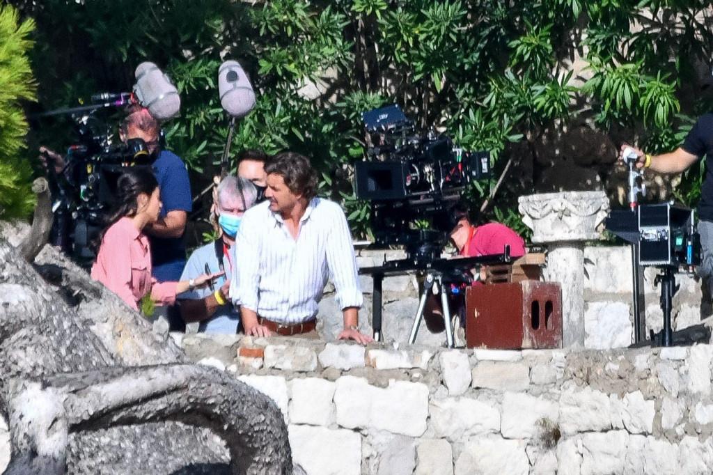 Snimanje filma 'The unbearable weight of massive talent' u hotelu Argentina i vili Šeherezada - glumac Pedro Pascal<br />