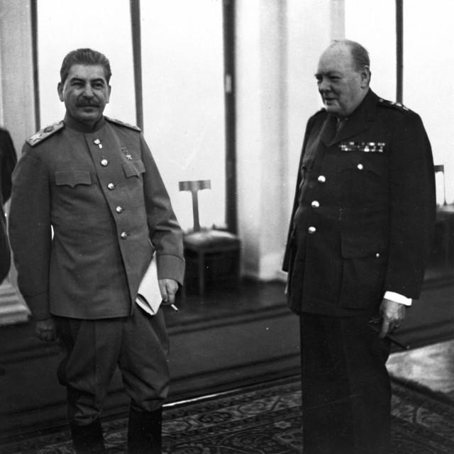 Staljin i Churchill