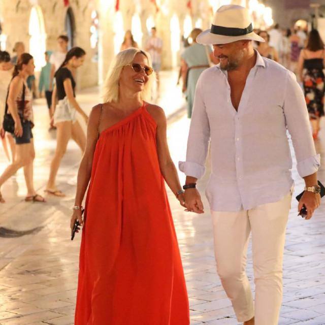 Maja Šuput ovog ljeta u Dubrovniku sa suprugom Nenadom