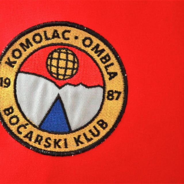 Grb Boćarskog kluba Komolac Ombla foto: Tonči Vlašić