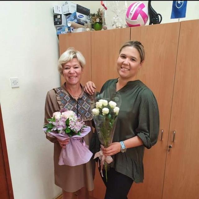 Ofelija Dragojević i Sanda Tasovac, majka i kćer