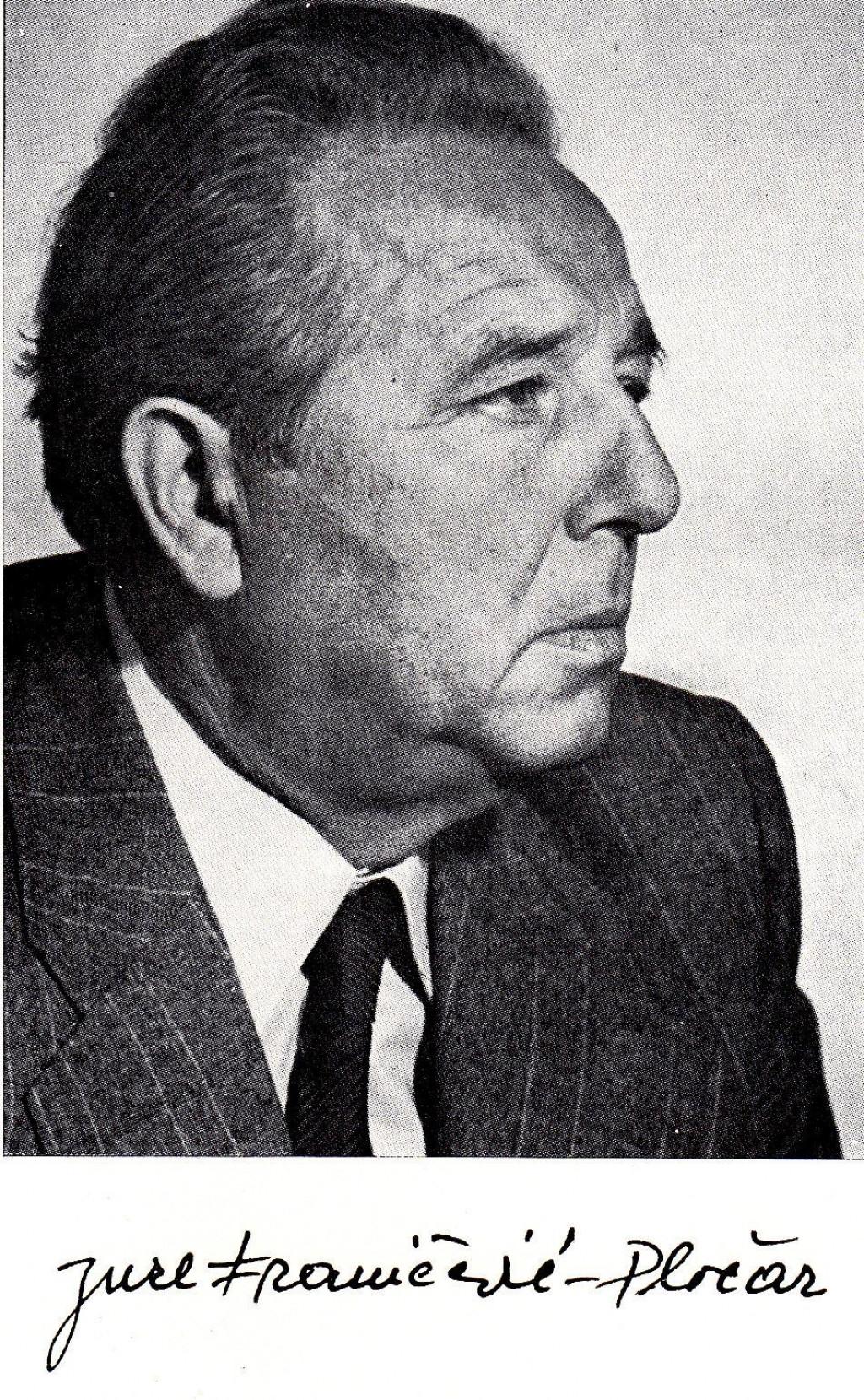 Jure Franičević Pločar, jedan od stupova dalmatinskoga pisma