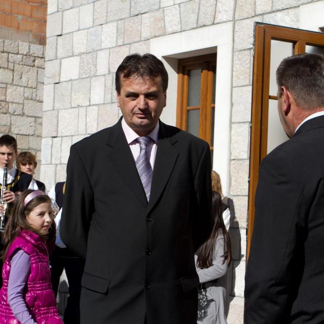 Ante Đuzel u doba dok je još bio gradonačelnik Imotskog